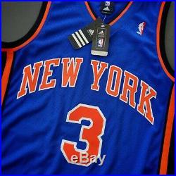 100% Authentic Tracy Mcgrady Adidas Knicks Autographed Signed Jersey JSA LOA