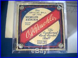 1934 BABE RUTH est 8.5 PSA/DNA & GEHRIG DETROIT TIGERS Team Signed MLB Baseball