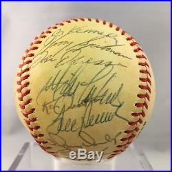 1970's Cincinnati Reds Big Red Machine Team Signed Baseball