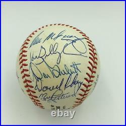 1975 Cincinnati Reds W. S. Champs Team Signed Baseball Big Red Machine JSA COA