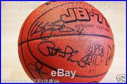 1992 Molten Dream Team Signed Michael Air Jordan Bird Magic NBA Basketball Ball