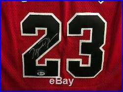 1996-97 Michael Jordan UDA Upper Deck Signed Chicago Bulls Jersey w Beckett LOA