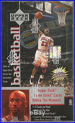 1997 1998 Upper Deck Michael Jordan Signed Autograph Game Jersey card GJ13S auto