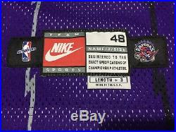 1998-99 Vince Carter Game Used Worn And Signed Jersey with Shorts Toronto Raptors