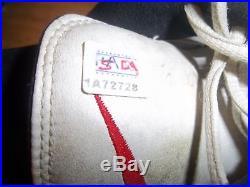 2000 Arizona Cardinals Signed Pat Tillman Game Worn Shoes Cleats PSA DNA