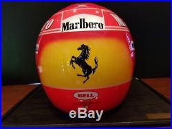 2000 Michael Schumacher official Bell replica helmet SIGNED with COA
