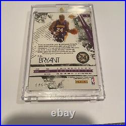 2009-10 Panini Rookies & Stars Kobe Bryant Auto Patch Card /199 Signed #1 Mint
