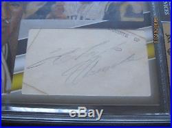 2015 The Bar Cut Autographs Roberto Clemente Signed Auto 1/1 BGS 9 JSA
