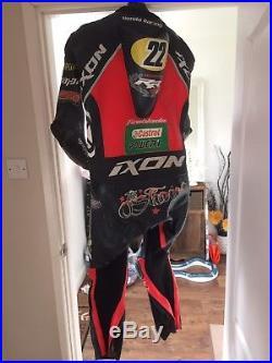 2017 Jason O'halloran Honda Bsb Used Ixon Race Suit. Signed