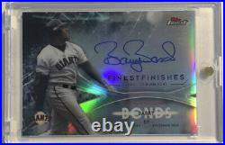 2017 Topps Finest Finishes 73HR Barry Bonds Auto Signature Autograph Signed Card