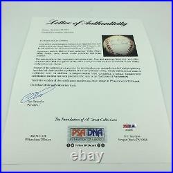 500 Home Run Club Signed Baseball Hank Aaron Willie Mays Ernie Banks PSA DNA