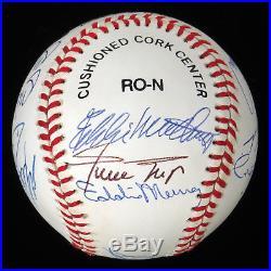500 Home Run Club Signed Baseball Mickey Mantle Hank Aaron Willie Mays JSA & UDA