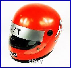 AJ Foyt Indy 500 Signed Full Size Replica Helmet