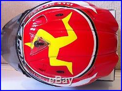 ARAI IOM TT Centenary Limited Edition (Signed) RX7 Helmet (SizeM) Very Rare