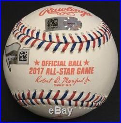 Aaron Judge signed Official 2017 All star game baseball Fanatics MLB holo COA
