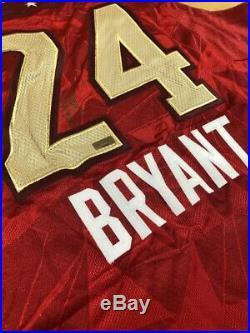 Adidas Kobe Bryant La All-star Nba Authentic Jersey Signed Autograph Panini 2xl