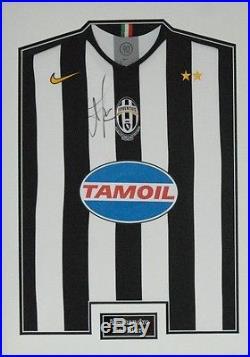 Alessandro Del Piero SIGNED & FRAMED JUVENTUS & ITALY JERSEY AFTAL COA (A)