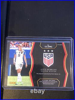 Alex Morgan Signed Auto Autograph Select Card Authentic US Women's Soccer