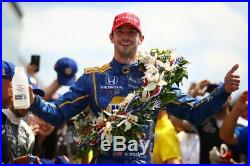 Alexander Rossi, Hand Signed, Race Used/worn Drivers Suit, 2017 Sonoma Indy Race