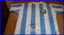 Argentina Shirt Hand Signed By Diego Maradona Autograph Great Value £249