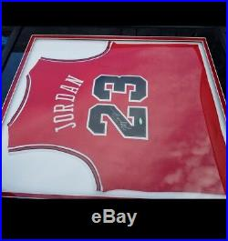 Authentic, Worn, And Signed Michael Jordan Jersey
