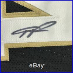 Autographed/Signed GIANNIS ANTETOKOUNMPO Milwaukee Black Jersey JSA COA Auto