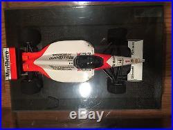 Ayrton Senna Formula 1 F1 Mclaren Honda Tamiya 1/12Th Scale Signed Monaco Grand