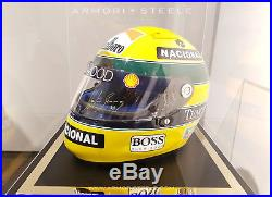 Ayrton Senna Last Race Crashed Imola 1994 Williams Fw16 Nose Cone + Signed