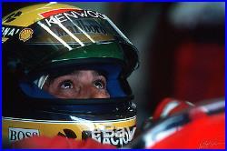 Ayrton Senna Signed Helmet Autographed Shoei X4 1993 F1 Visor Psa Asa Cert