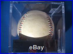 BABE RUTH Single Signed PSA/DNA Graded NM 7 JSA MLB Professional League BASEBALL