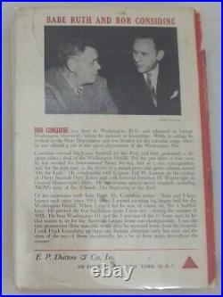Babe Ruth Authentic Autographed Signed The Babe Ruth Story Book PSA/DNA #AG01315