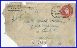 Babe Ruth Jsa Certified Authentic Signed Letter Autographed Yankees Mint