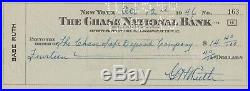 Babe Ruth Psa/dna Certified Authentic Signed Personal Check Autographed Rare