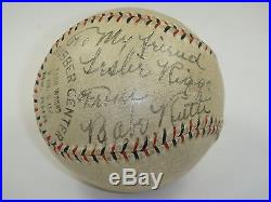 Babe Ruth Psa/dna Certified Single Signed Baseball Autographed Authentic Rare