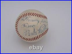 Babe Ruth Psa/dna & Jsa Certified Authentic Single Signed Al Baseball Autograph