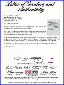 Babe Ruth Signed 1943 Nbc Contract Psa/dna Graded 10 Mint Certified Autographed