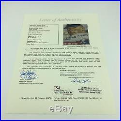 Beautiful 1953 Topps Mickey Mantle Signed Autographed 8x10 Photo JSA COA