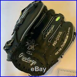 Beautiful Derek Jeter Signed 1996 Rookie Rawlings Game Model Glove Steiner COA