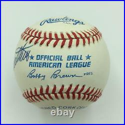Beautiful Mickey Mantle Ted Williams 500 Home Run Club Signed Baseball JSA COA