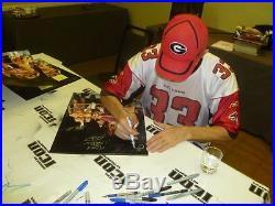 Bret Hart Razor Ramon Lex Luger 123 Kid Bob Holly Signed 16x20 Photo PSA/DNA COA