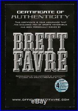 Brett Favre Bart Starr Aaron Rodgers Signed GB Packers FullSize Helmet FANATICS