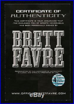 Brett Favre Bart Starr Signed Full Size Proline Helmet with SB MVP Inscriptions