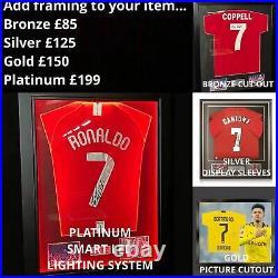 Bruno Fernandes Signed 20/21 Manchester United Shirt