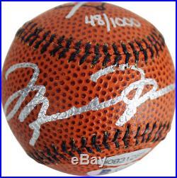 Bulls Michael Jordan Signed Baseball Basketball LE #48/1000 BAS LOA & UDA Holo