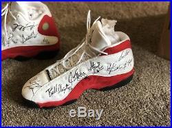 Signed Game Used 98 Nike Bulls Jordan 1997 Air Michael XiuTkOPZ