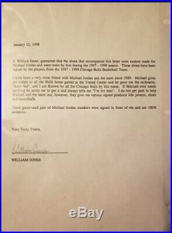 Bulls Michael Jordan Signed Game Used 1997-98 Nike Air Jordan XIII Shoes