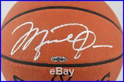 Bulls Michael Jordan Signed Spalding Official Game Basketball UDA & BAS #A68525