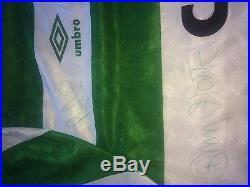 Celtic FC Centenary signed jersey