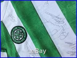 Celtic FC signed jersey (including Jimmy Johnston, Tom Boyd, John Fallon etc)
