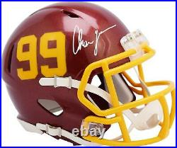 Chase Young Washington Football Team Signed 99 Decal Mini Helmet Fanatics